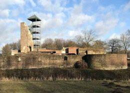 Horst aan de Maas (Kasteelruïne Huys ter Horst) - Vakantie in Limburg