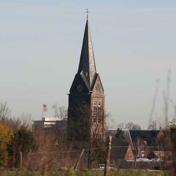 Kerk Bocholtz gemeente Simpelveld - Vakantie in Limburg