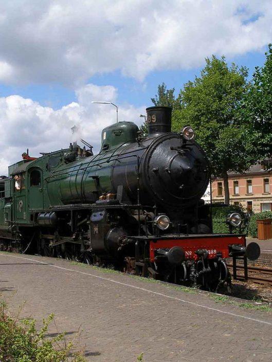 Miljoenenlijn Zuid-Limburgse Stoomtrein Maatschappij - Simpelveld