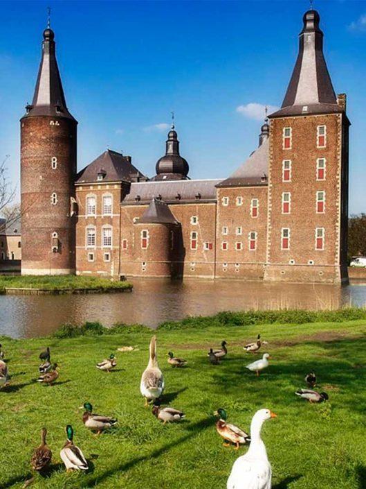 Kasteel Hoensbroek - Vakantie in Limburg