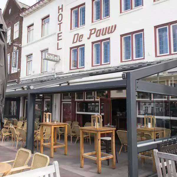 Hotel en Grand Café De Pauw - Roermond - Vakantie in Limburg