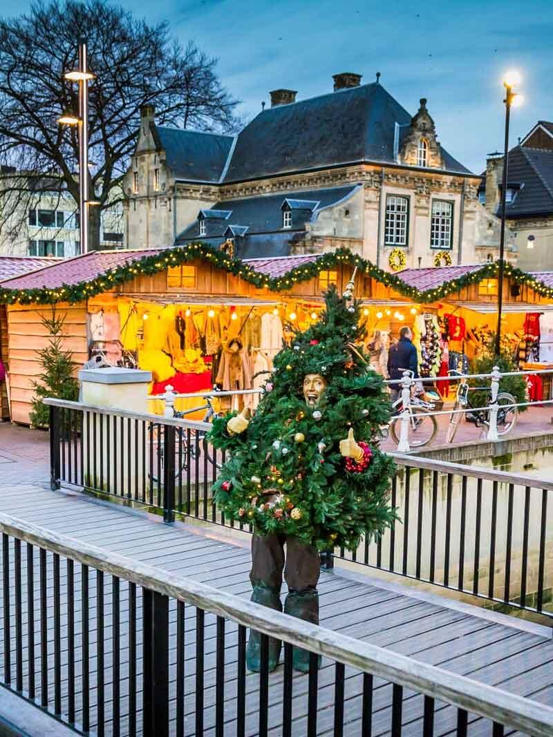 Kerstmarkt in Valkenburg - Vakantie in Limburg