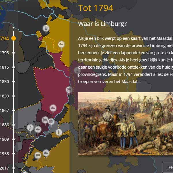 Nieuwe website over de geschiedenis van 150 jaar Limburg