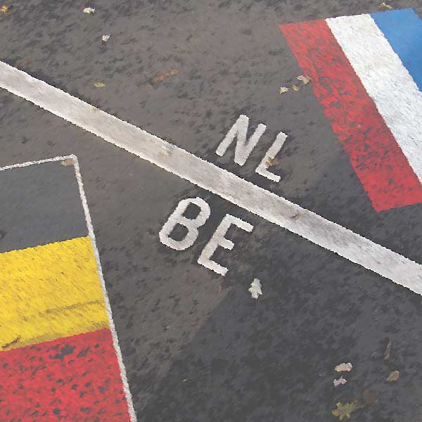 Grens met Nederland en België in Maas per 1 januari 2018 gecorrigeerd