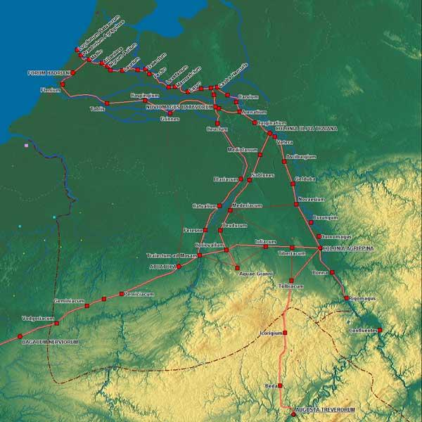 Resten Romeinse weg gevonden in Houthem Limburg