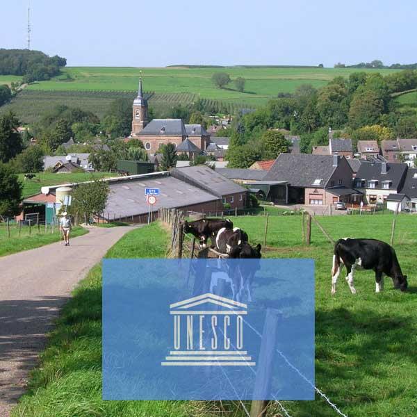 Zuid-Limburg wil status Unesco Erfgoed landschap