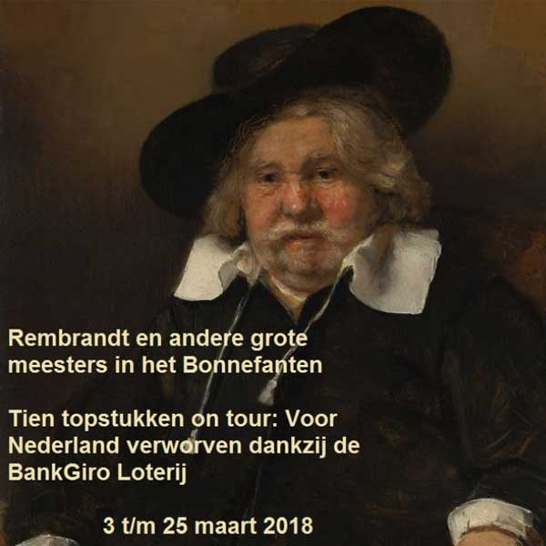 Tien topstukken on tour