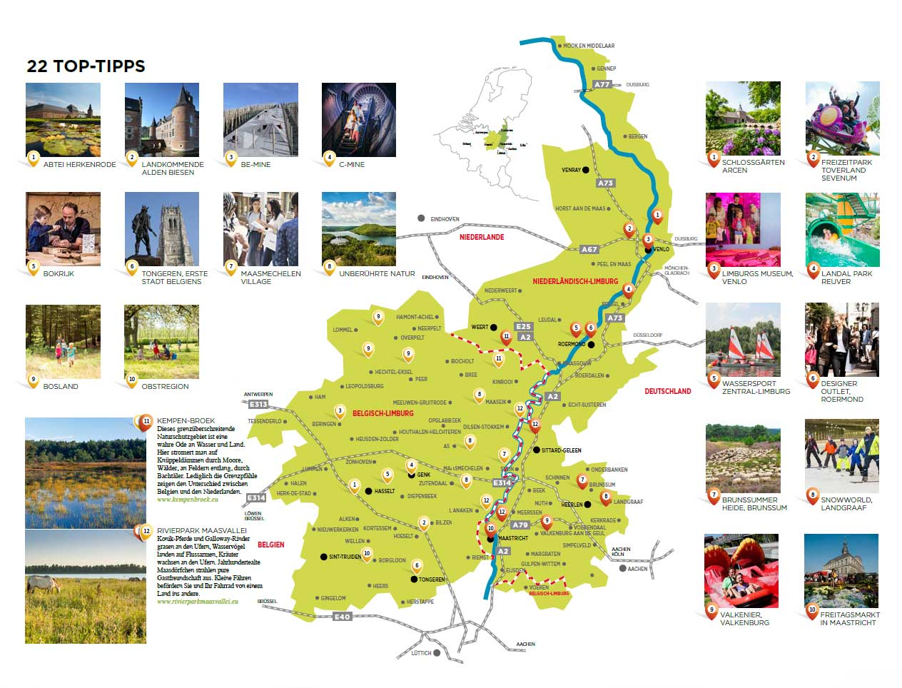Beide Limburgen richten pijlen opnieuw samen op Duitsland