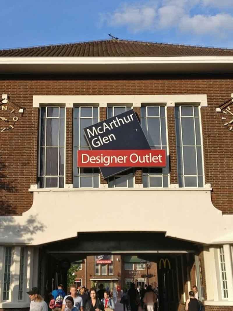 Designer Outlet Roermond - Vakantie in Limburg