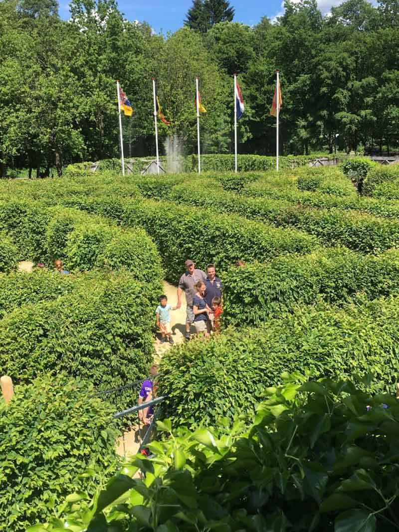 Labyrint Drielandenpunt - Vaals - Vakantie in Limburg