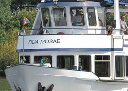 Maasboot Filia Mosae - Well - Vakantie in Limburg
