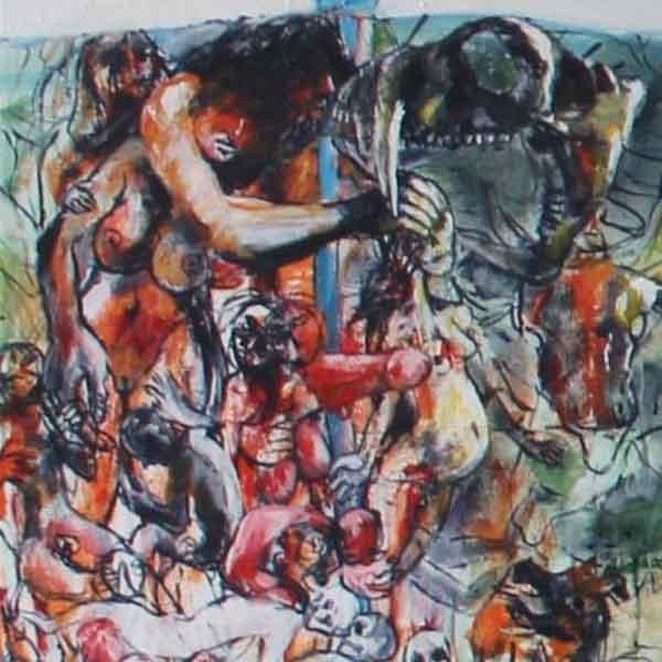 Panoramaschilderij Het Hallucinarium