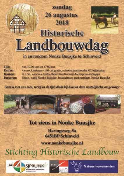 Historische Landbouwdag - Nonke Buusjke - Vakantie in Limburg