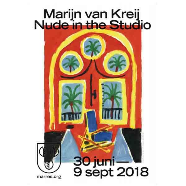 Marijn van Kreij: Nude in the Studio - Vakantie in Limburg