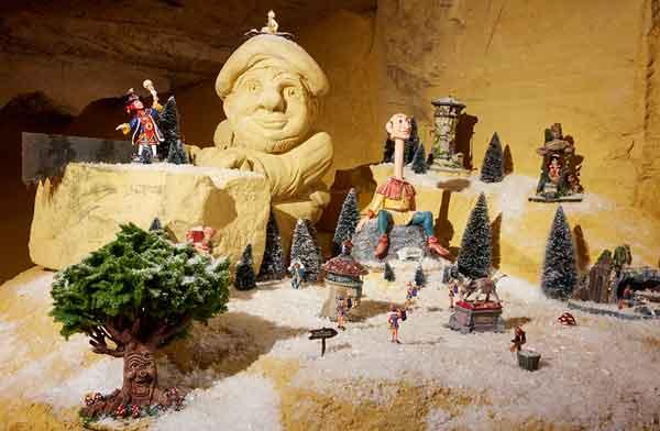 Kerstminiaturen in MergelRijk - Vakantie in Limburg