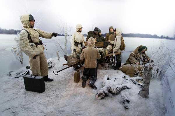 Winternacht in Oorlogsmuseum Eyewitness