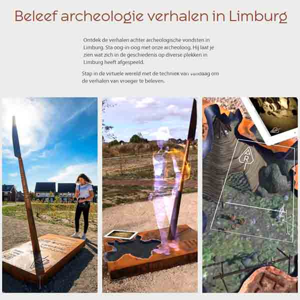 Limburgse ArcheoRoute dankzij Eijsden-Margraten voor het eerst in Zuid-Limburg - Vakantie in Limburg