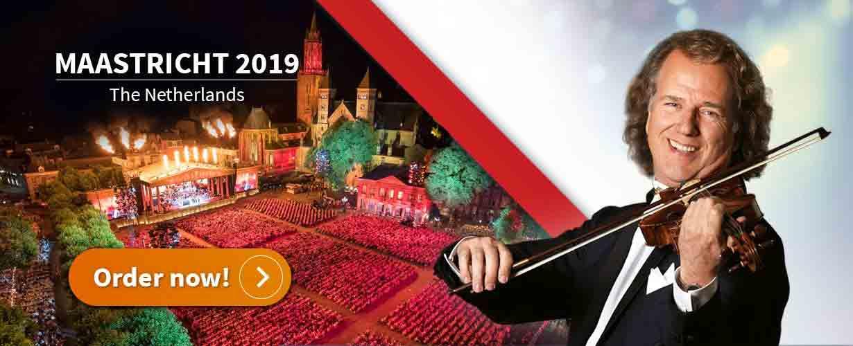 André Rieu op het Vrijthof 2019 - Vakantie in Limburg