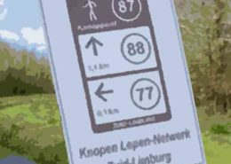 KnopenLopen, wandelroutenetwerk Sevenum,