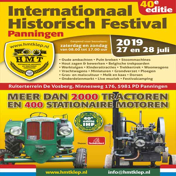 Internationaal Historisch Festival 2019