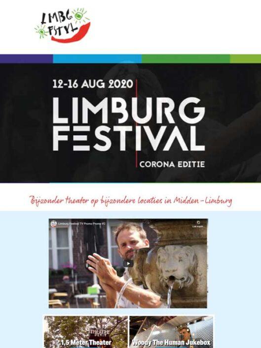 Limburg Festival 2020 wordt corona-editie